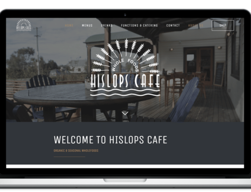 Redesign of the Hislops website & creation of an online shop