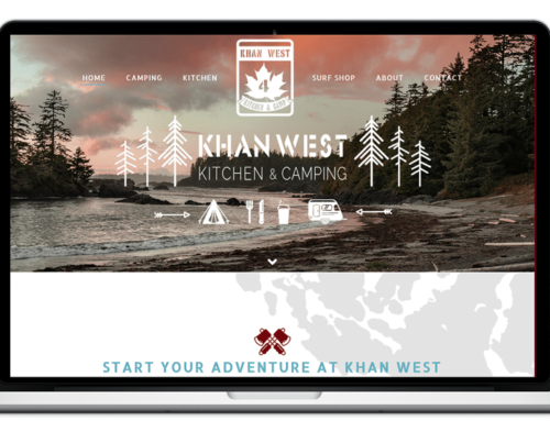 Creation of Khan West Kitchen & Camp website