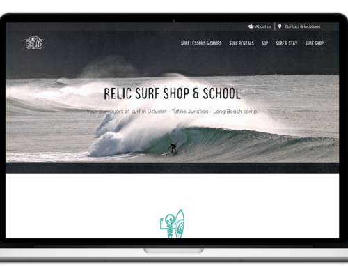 Redesign of Relic Surf Shop